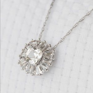 Kay Jewelers 3.5 Carat White Sapphire Necklace